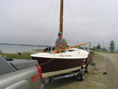 Dovekie 21', Edey & Duff, 1986 sailboat