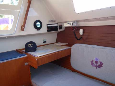 Dufour Model 1800, 25 ft., 1981 sailboat