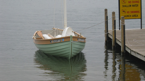 Dunderdale 12' sailboat