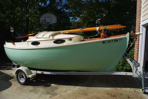 Elver Yawl, 1992, Chapel Hill, North Carolina sailboat