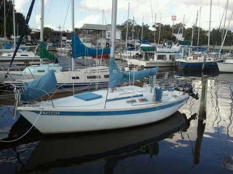 Ericson 23 Mark Ii 1976 Jacksonville Florida Sailboat