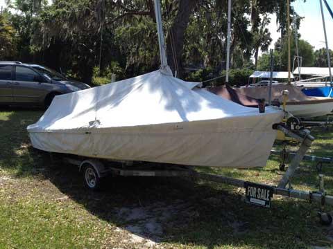 Flying Scot, 1985, Lake Eustis Sailing Club, Eustis, Florida sailboat