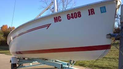 Flying Scot, 1977, Kalamazoo, Michigan sailboat