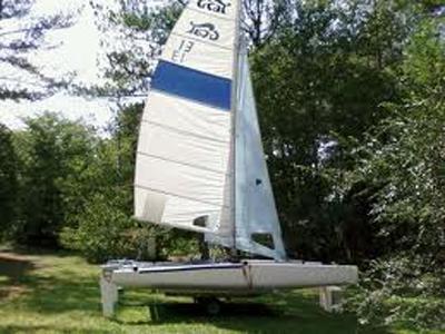 G-Cat 5.7, 1986, Indianapolis, Indiana sailboat