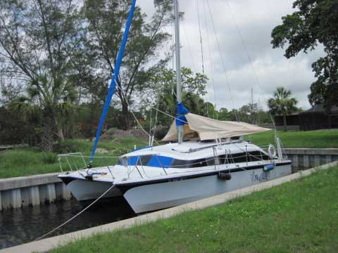 Classic Gemini 3000, 1982, 30' Cruising Catamaran, St. Petersburg, Florida sailboat