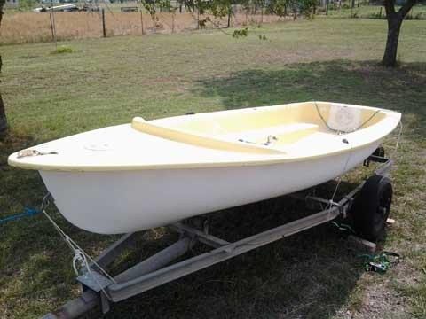Janus Ghost 13, 1970s sailboat