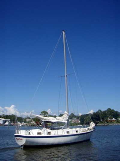 Gulfstar 41, 1973 sailboat