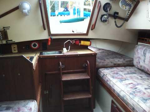 Helms 24 Sloop, 1980, Concord, North Carolina sailboat