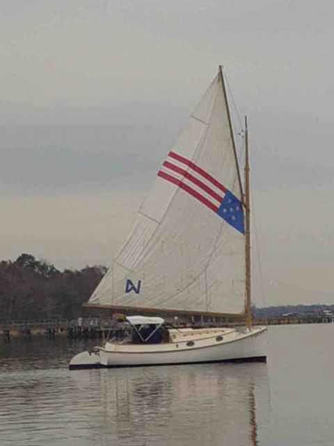 Herreshoff America Catboat, 18', 1972 sailboat