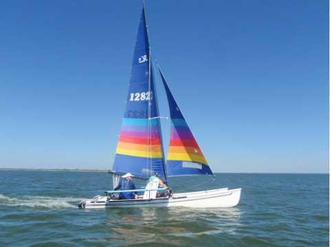 Hobie 18, 1986 sailboat