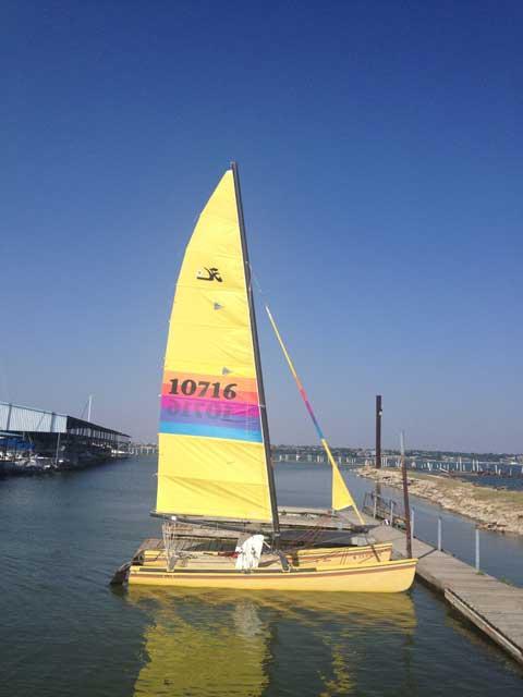 Hobie 18 Catamaran, 1985 sailboat