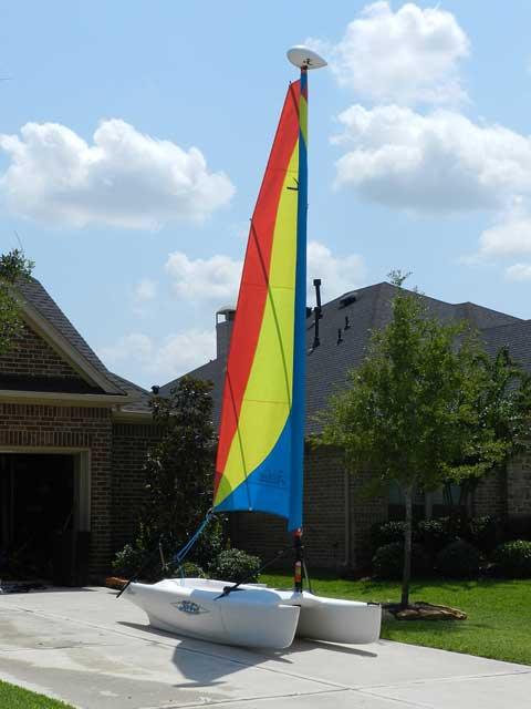 Hobie Bravo, 2006, Katy, Texas sailboat