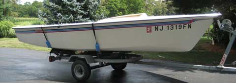 Holder 14, 1989, Millstone Township, central New Jersey sailboat