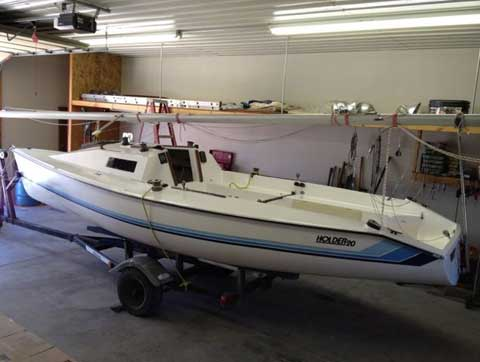 Holder 20, 1981, Kansas City, Missouri, sailboat for sale from