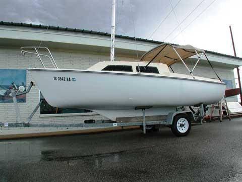 Hunter 5.2, 17', 1982 sailboat