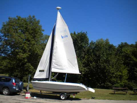 Hunter 170, 1999, Muscatine, Iowa, sailboat for sale from