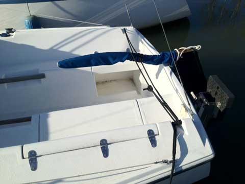 Hunter 23', 1987 sailboat