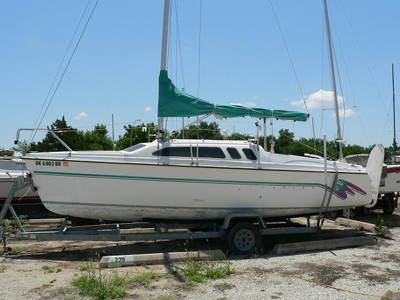 Hunter 23 5 1993 Oklahoma City Oklahoma Sailboat For