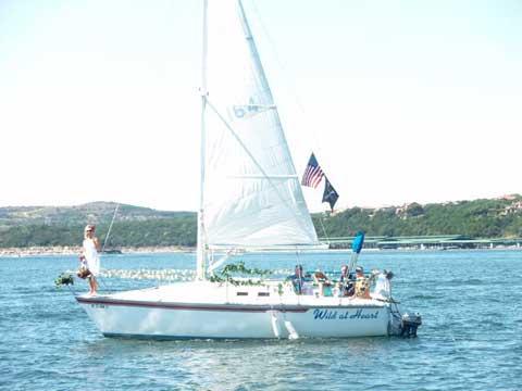 Hunter 25.5, 1986, Highland Lakes Marina,  Lake Travis, Texas sailboat