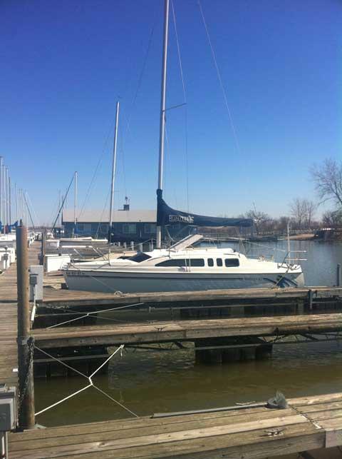Hunter 26, 1997 sailboat