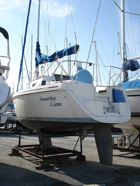 Hunter 27 1991 Carlyle Illinois Sailboat For Sale From