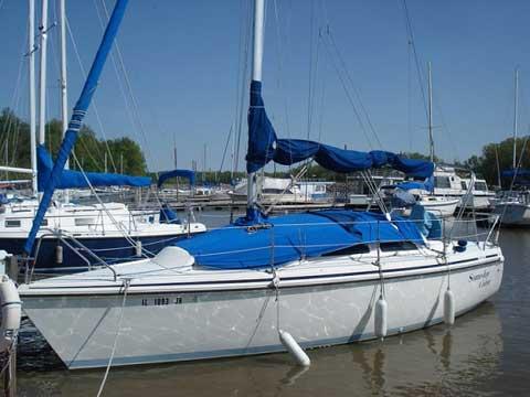 Hunter 27, 1991 sailboat