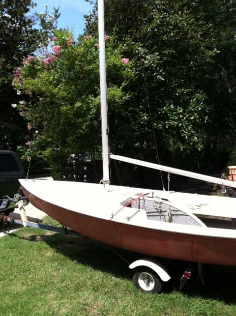 Interlake Customflex, 18', 1989 sailboat