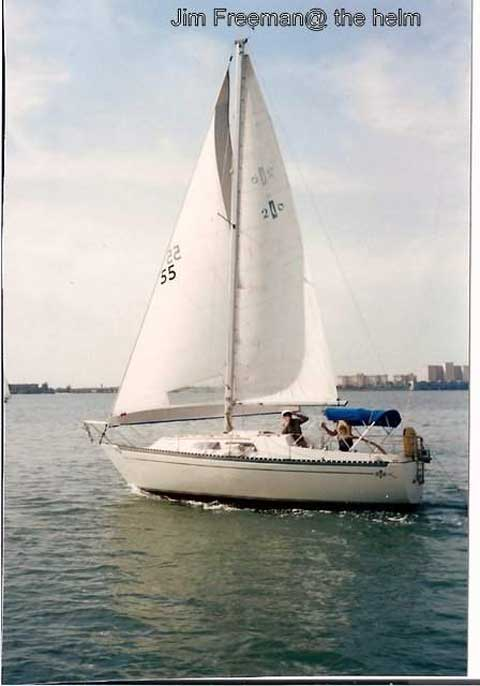Islander Bahama 26 1977 St Petersburg Florida Sailboat For Sale From Sailing Texas