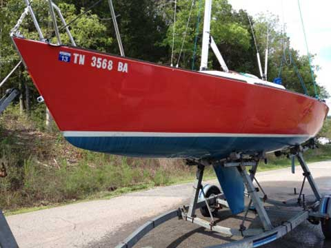J22, 22 foot, 1984, Nashville, Tennessee sailboat
