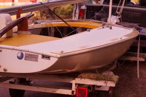 Johnson J-Sailor 1977, Lake DuBay, Stevens Point, Wisconsin sailboat