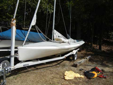 Johnson 18, 1995, Tulsa, Oklahoma sailboat