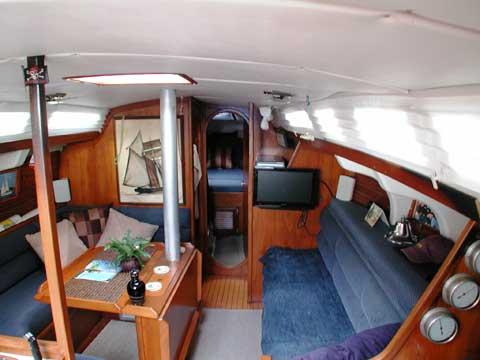 Kirie Elite 37 1984 Lake Lewisville Texas Sailboat For