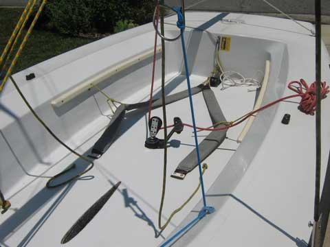 Vanguard Laser 2 (II); 14 ft, 2004 sailboat