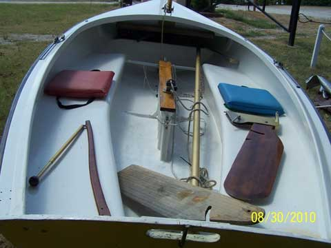 Lido 14, mid 80s sailboat