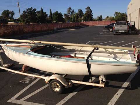 Schock Lido 14, 1968, Suisun City, California sailboat