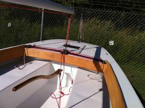 Luders 21, 1968, Burlingon, Vermont sailboat