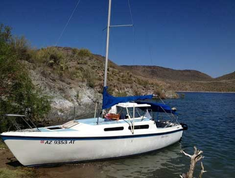 MacGregor 25, 1982, Phoenix, Arizona sailboat