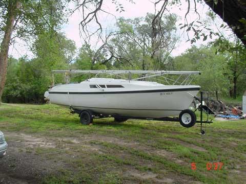 Macgregor 26S, 1995, Amarillo, Texas sailboat
