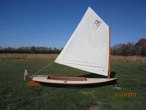 Crawford Melonseed skiff, 2003, Annapolis, Maryland ...