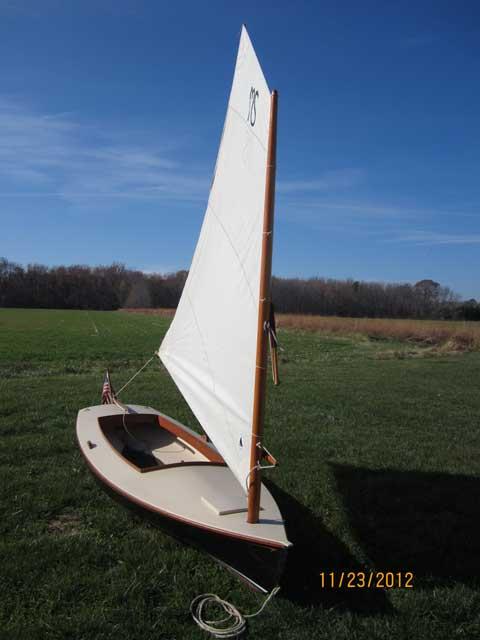 Crawford Melonseed skiff, 2003, Annapolis, Maryland sailboat