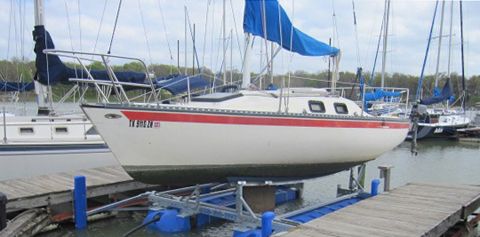 Mirage 236, 1982, Lake Lewisville, Oak Point, Texas sailboat