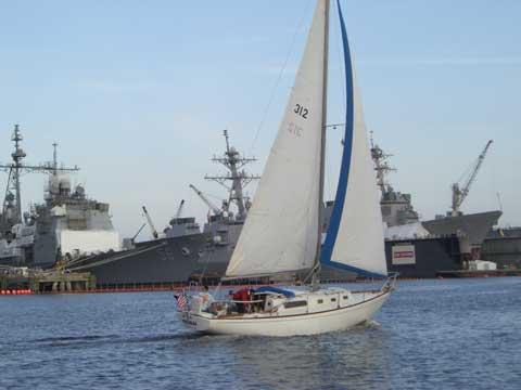 Morgan 34', 1969, Portsmouth, Virginia sailboat
