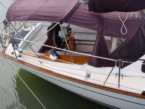 Morgan, 383 sloop/cutter, 1982, Polacios, Texas sailboat