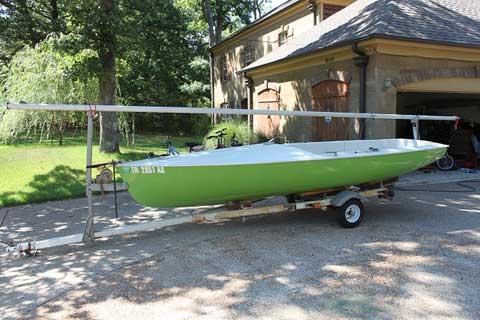 Chrysler Mutineer 15, 1977, Memphis, Tennessee sailboat