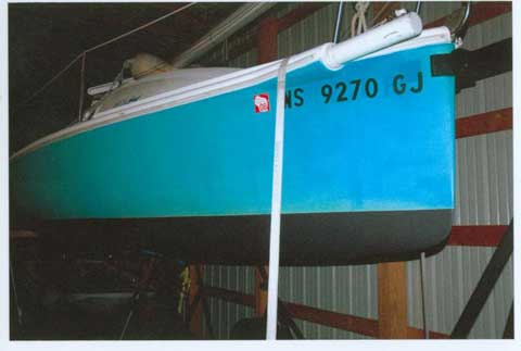 MX-20, 1999, Indiana sailboat