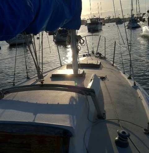 Newport 29, 1979 sailboat