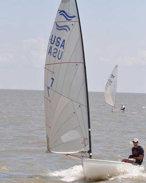 Newport Finn, 1965, New Orleans, Louisiana sailboat