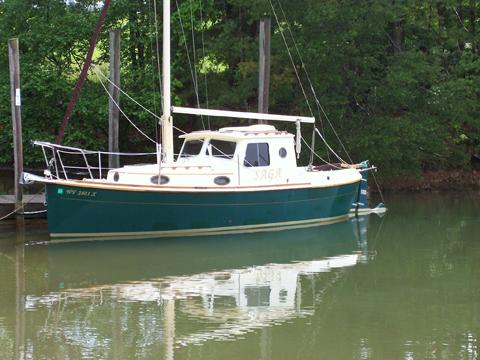 Nimble Arctic 25', 1989, Roanoke, Virginia sailboat