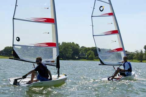 North Texas Sailing School sailboats
