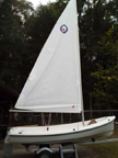1986 O'Day Widgeon sailboat